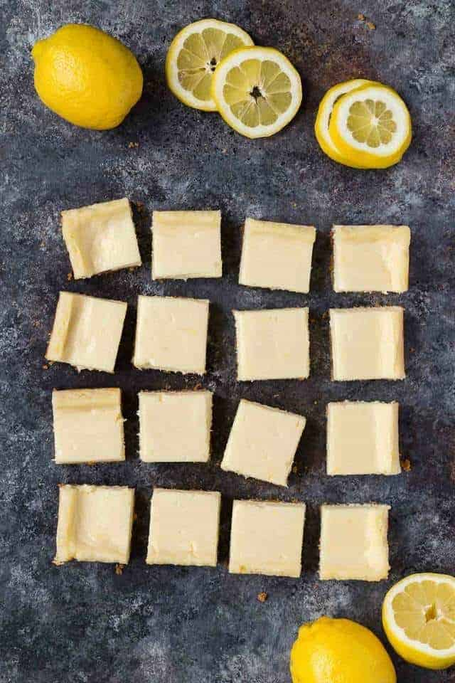 These Lemon Cheesecake bars are the perfect treat to welcome spring and warmer weather. The perfect balance of sweet and sour, these creamy lemon bars will taste like they were made in a bakery.