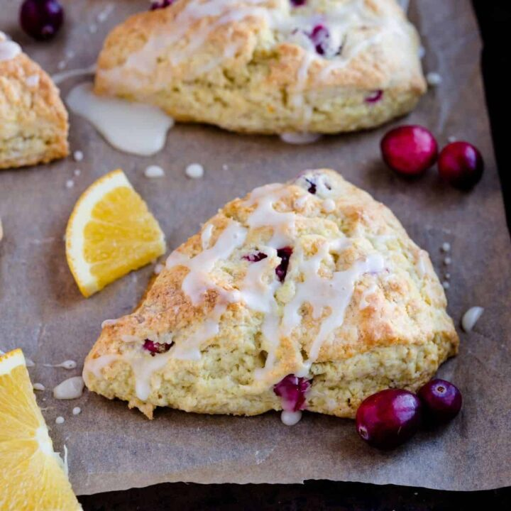 Baked By An Introvert: Cranberry Orange Scones Recipe