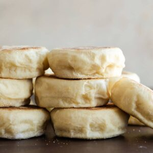 Homemade English Muffins Recipe Image