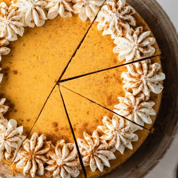 Pumpkin Cheesecake Recipe Baked By An Introvert