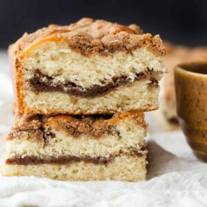 Cinnamon Crumb Coffee Cake Recipe Photo