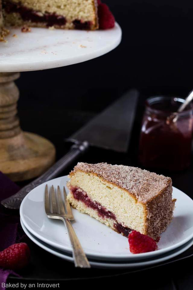 White Cake Raspberry Jam Recipe
