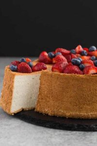 This Effortless Angel's Food Cake is not only super easy to make, it's also incredibly delicious.