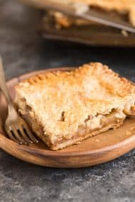 Apple Slab Pie with Brown Butter Crust