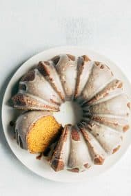 Pumpkin Bundt Cake with Brown Butter Glaze