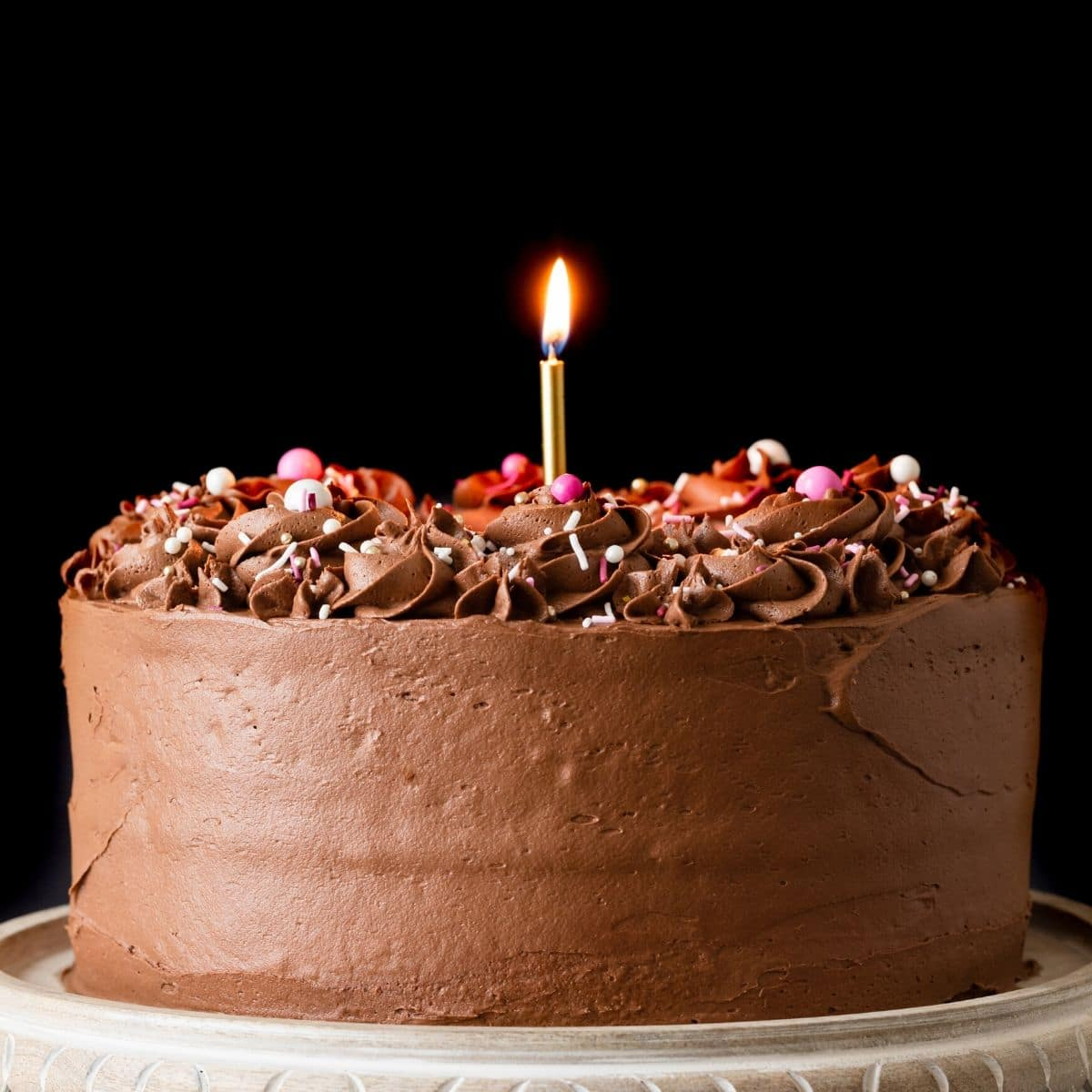 The Best Birthday Cake Recipe Baked By An Introvert