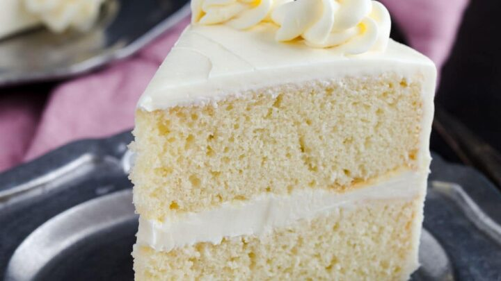Homemade Vanilla Cake Recipe Baked By An Introvert