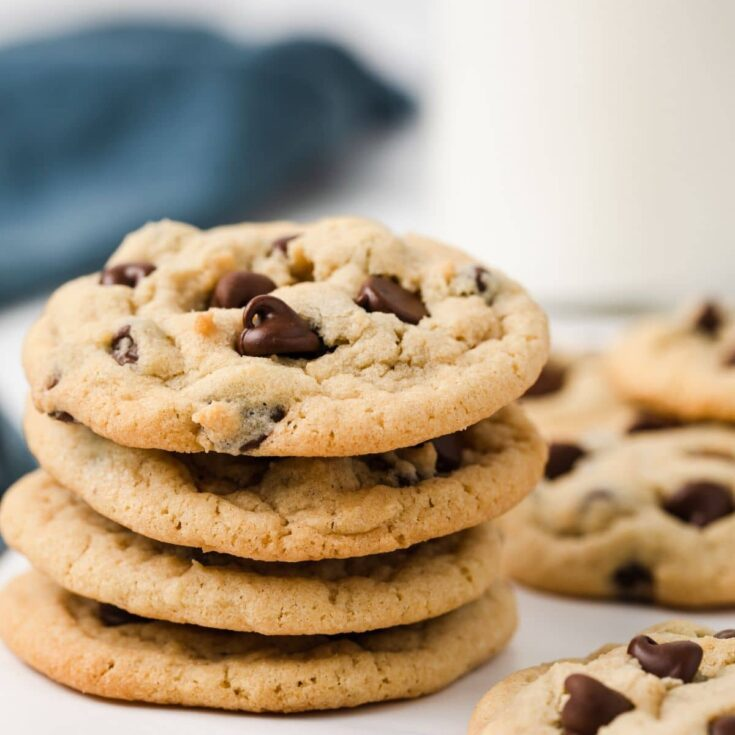 Classic Chocolate Chip Cookies Baked By An Introvert